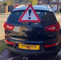 Vehicle Breakdown Warning Safety Triangle
