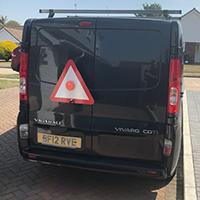 Van & Truck Breakdown Safety Triangle